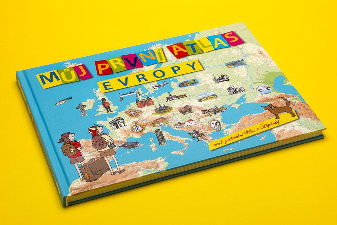 Můj první atlas Evropy
